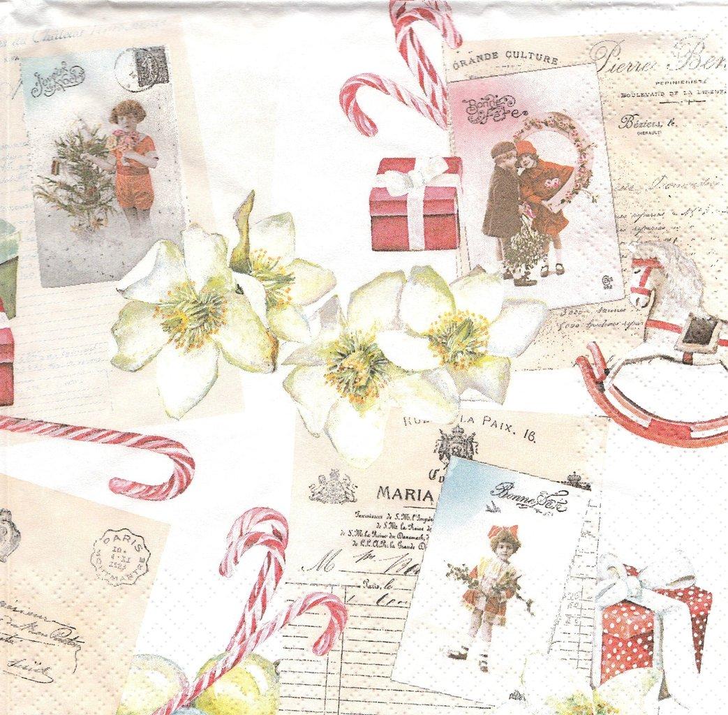 2 Paper Napkins Christmas Wishlist ...