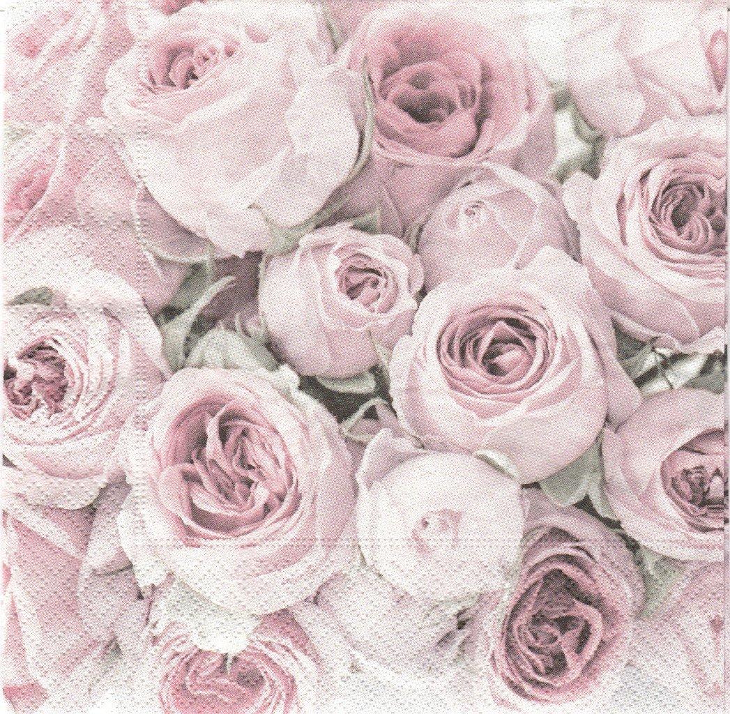 paper napkins vintage roses paper napkins vintage roses