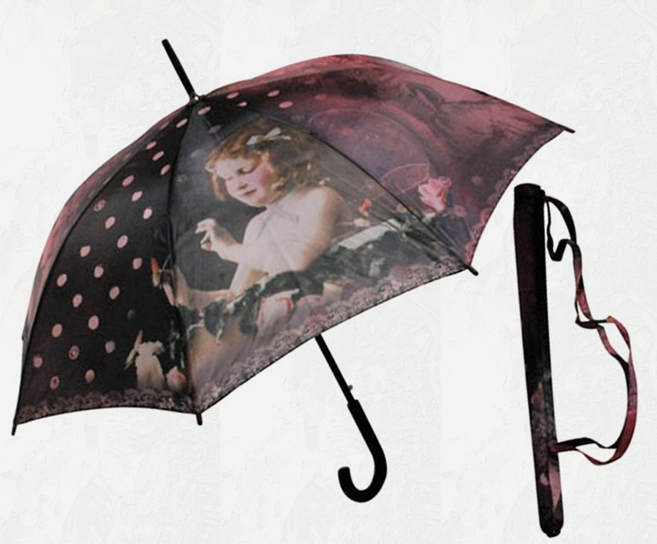 parapluie orval cr ation nostalgie passioncreationcollection. Black Bedroom Furniture Sets. Home Design Ideas