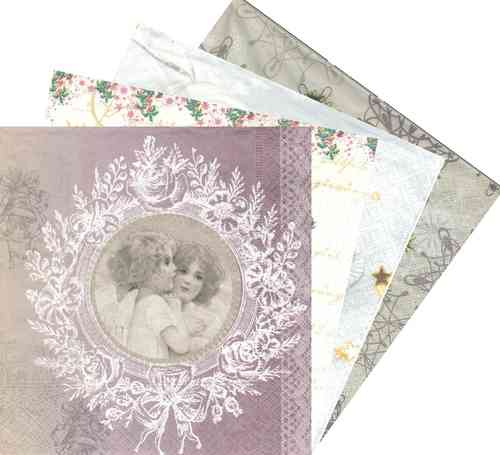 Serviette en papier Anges