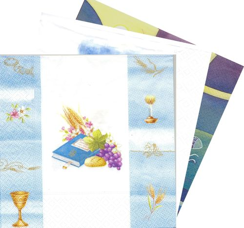 Serviette en papier Communion