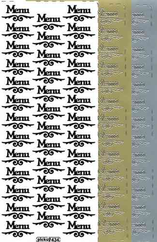 Pickup Text Stickers 434 Menu