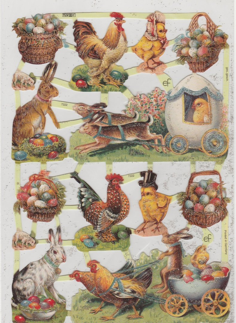 Chromo EF Découpis Berger Mouton 7405 Decoupage Collage Carterie