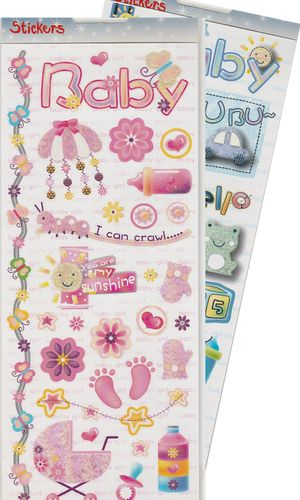 HobbyFun Stickers 3451-