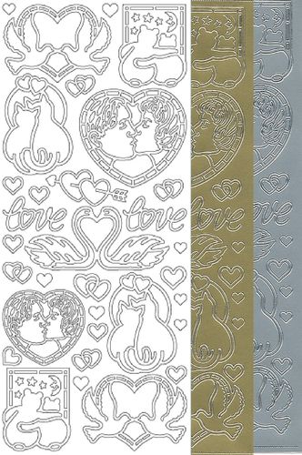 Starform Outline Stickers 800 Mariage