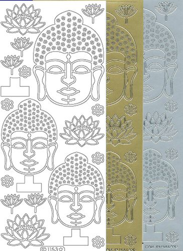 Starform Outline Stickers 1153 Bouddha