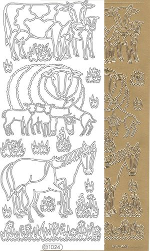 Starform Outline Stickers 1024 Animal
