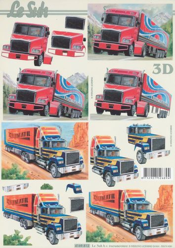Feuille 3D 4169.812 Camion