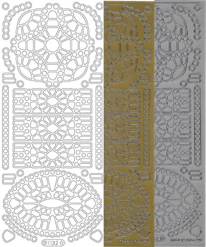 Starform Outline Stickers 1132 Mosaique Oval