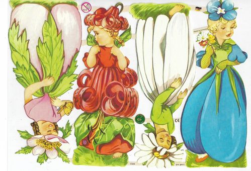 Chromo EF 7309 Flower Fairies