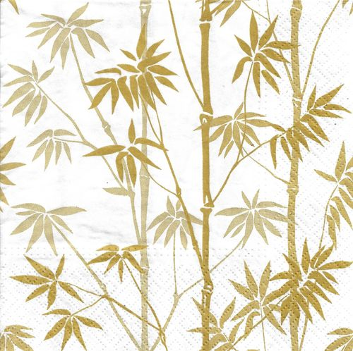 4 Paper Napkins Bamboo Forest