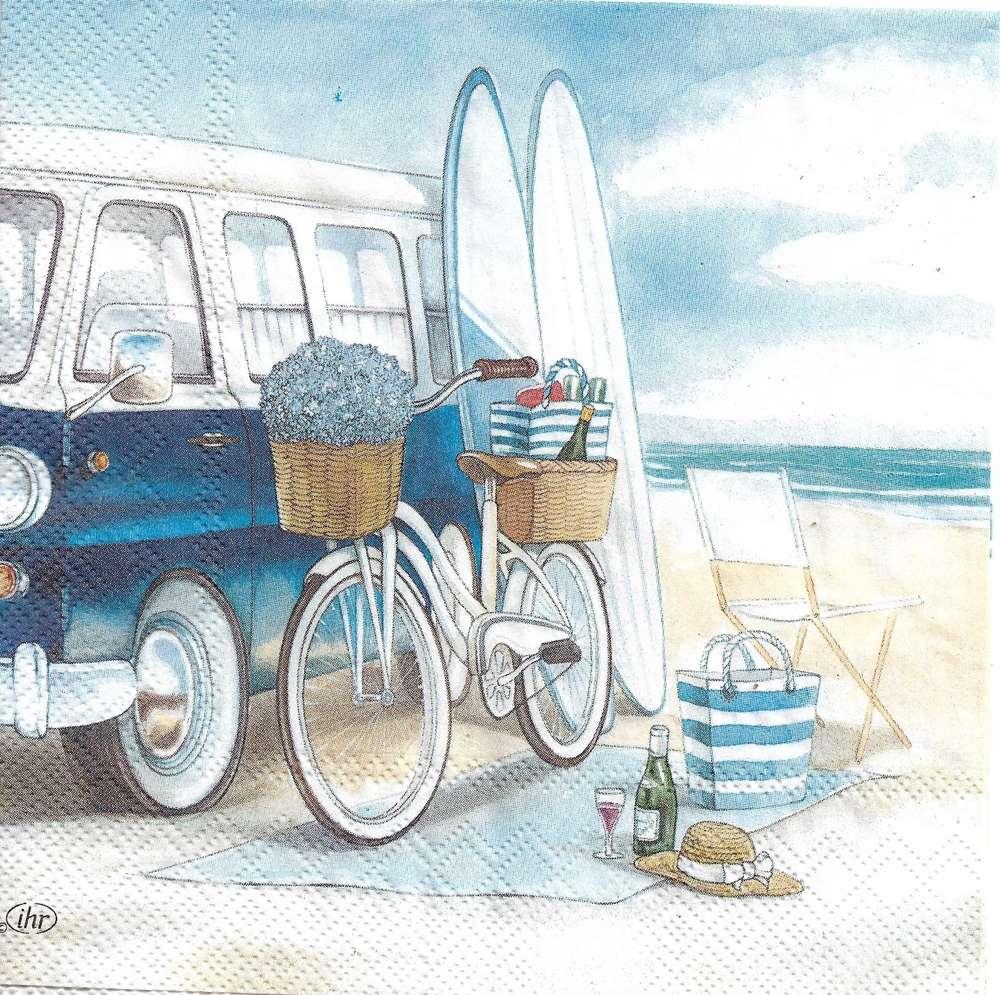 serviette plage vans