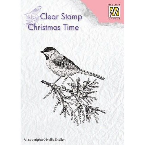 Clear Stamp Branch with Bird