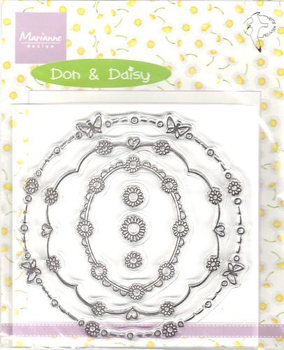 Clear Stamps Decorations Circle