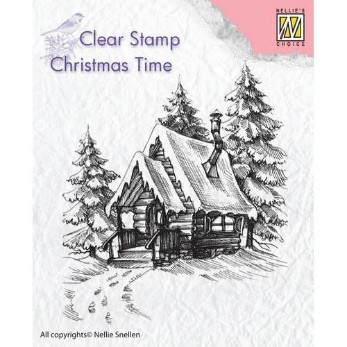 Clear Stamp Snowy house