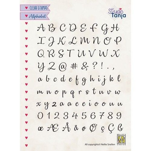 Clear Stamp Alphabet Lena-2