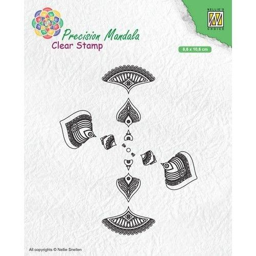 Clear Stamp Mandala