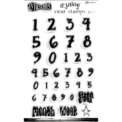 Clear Stamp Numerology