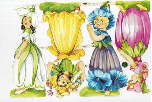 Chromo EF 7310 Flower Fairies