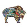 Patch Thermocollant Tissu Bison