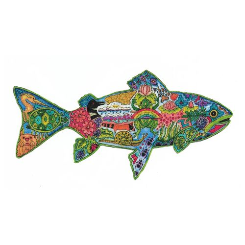 Iron-on patch Trout