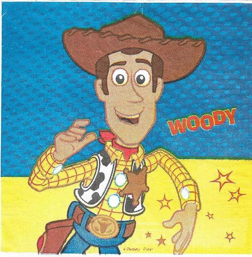 3 Serviettes papier Cocktail Woody Toy Story